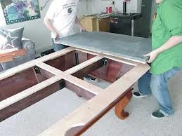 Pool table moves in Madison Wisconsin