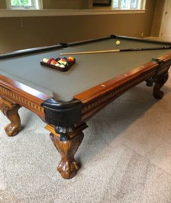 Pool Table - American Heritage Game Room Collection