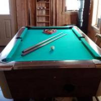 Valley Cougar Bar Pool Table