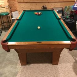 8 Ft. Olhausen Pool Table